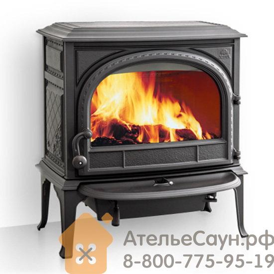 Печь камин Jotul F 400 CB BP (чугунная печь, чёрная, экономия дров, закрытая камера горения)