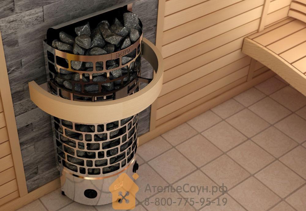 Печь для сауны Sawo Aries ARI3-60NB-WL-P (пристенная, со встроенным пультом)