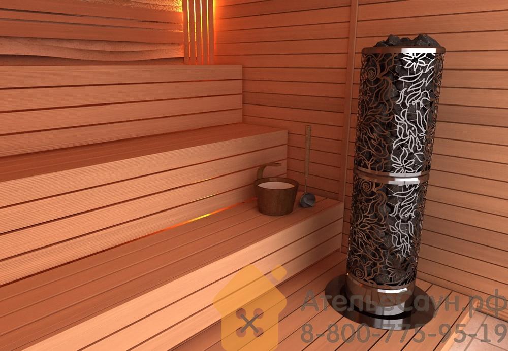 Печь Sawo Dradonfire HeaterKing DRFT3-35NS-P (дизайнерская, без пульта)
