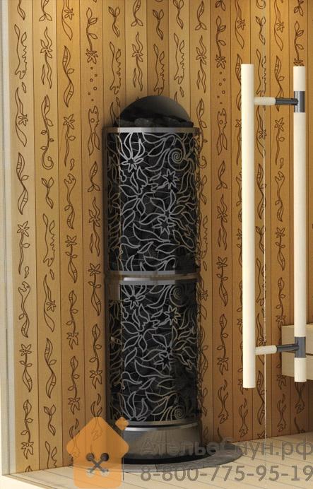 Печь Sawo Dradonfire HeaterKing DRFT3-60NS-WL-P (дизайнерская, пристенная, без пульта)