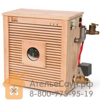 Парогенератор для бани Sawo STP-D-90-C-1/3-DFP (кнопочный пульт, автоочистка, 3 доп. функции, в кедровой отделке)