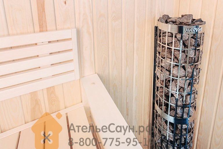 Электрическая печь Harvia Cilindro PC 66 (6,6 кВт, со встроенным пультом)