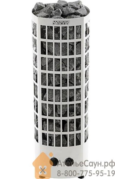 Печь для сауны Harvia Classic Quatro QR 70 V (белая, со встроенным пультом)