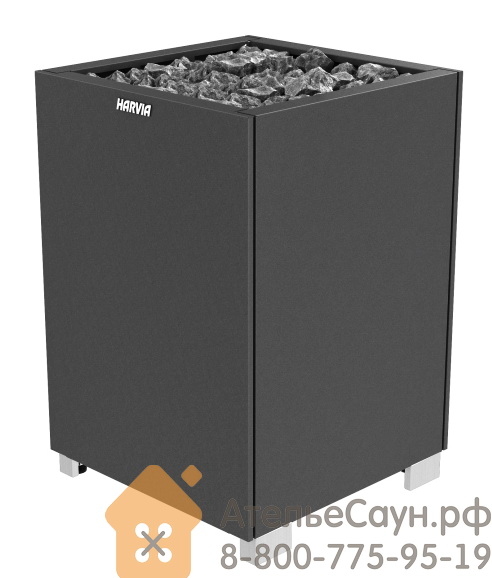 Печь для сауны Harvia Modulo MD 160 Black (без пульта)