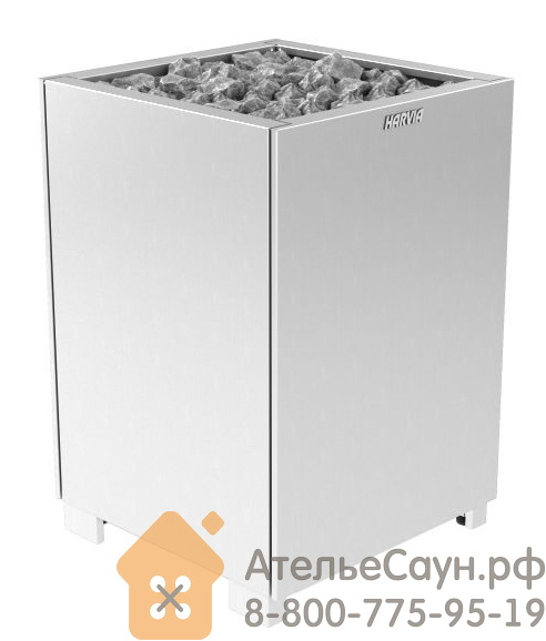 Печь для сауны Harvia Modulo MD 160 Steel (без пульта)
