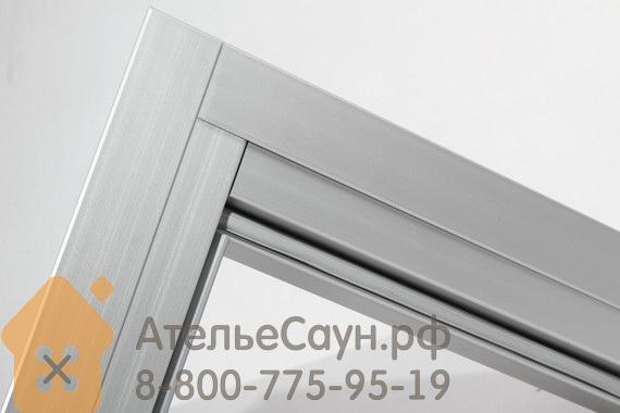 Комплект алюминиевых наличников для дверей Harvia 7x19–21 (арт. SAZ035)