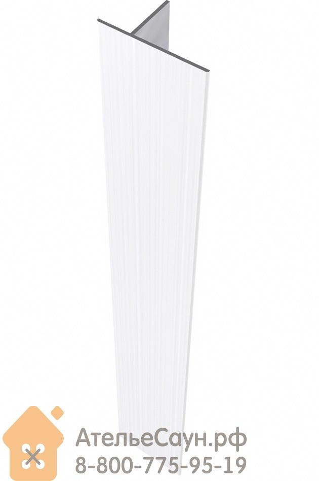 Комплект алюминиевых наличников для дверей Harvia 8x19-21 (белые, арт. SAZ066)