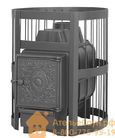 Печь для бани Везувий Легенда Стандарт 16 ДТ-4 (без выносной топки, дверца чугунная)