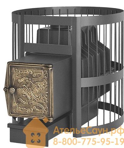 Печь для бани Везувий Легенда Стандарт 22 ДТ-4 (выносная топка, чугунная дверца)