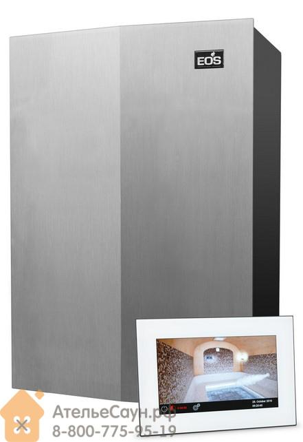 Парогенератор EOS SteamRock 9,0 кВт Premium (с белым сенсорным пультом)