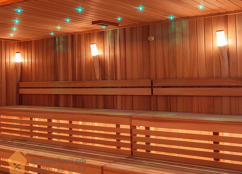 Светильник для сауны Licht 2000 Torcia Vetro (настенный)