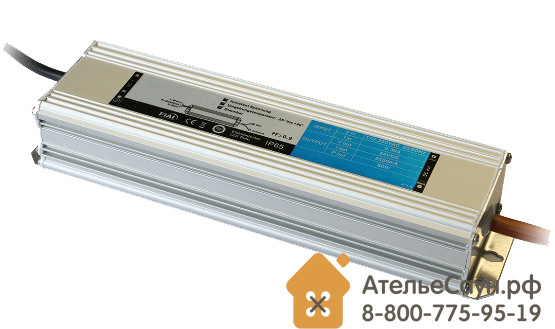 Трансформатор EOS LED 24 В, 480 Вт (для сауны)