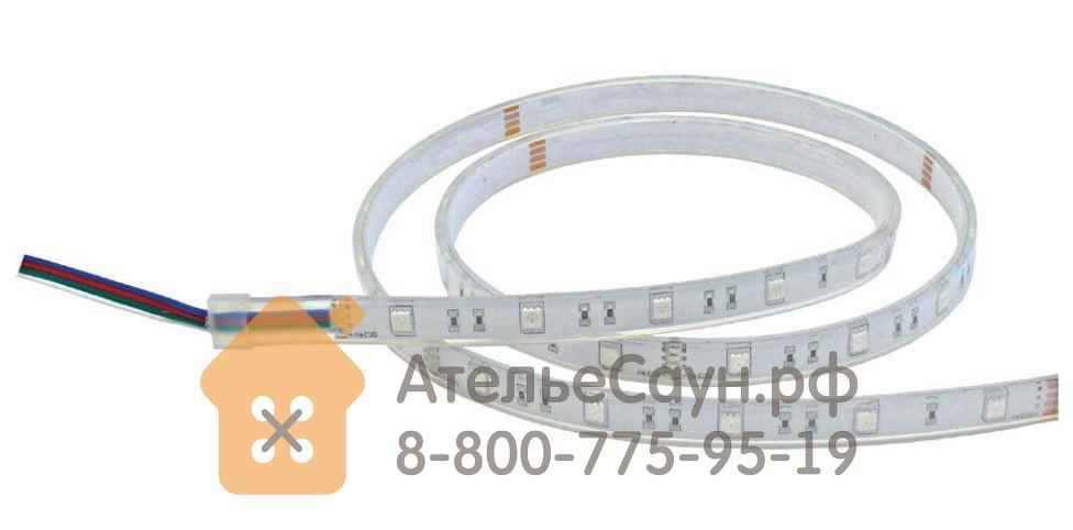 Светодиодная лента EOS Led IP68 12 В (5 м, холодный белый, для турецкой парной)