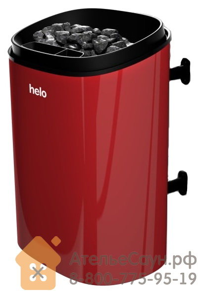 Электрическая печь Helo FONDA 800 DET (красная, без пульта, артикул 001815)