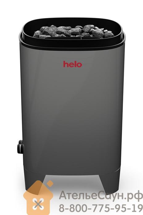 Электрическая печь Helo FONDA 800 STJ BWT (серая, со встроенным пультом, с парогенератором артикул 005851)