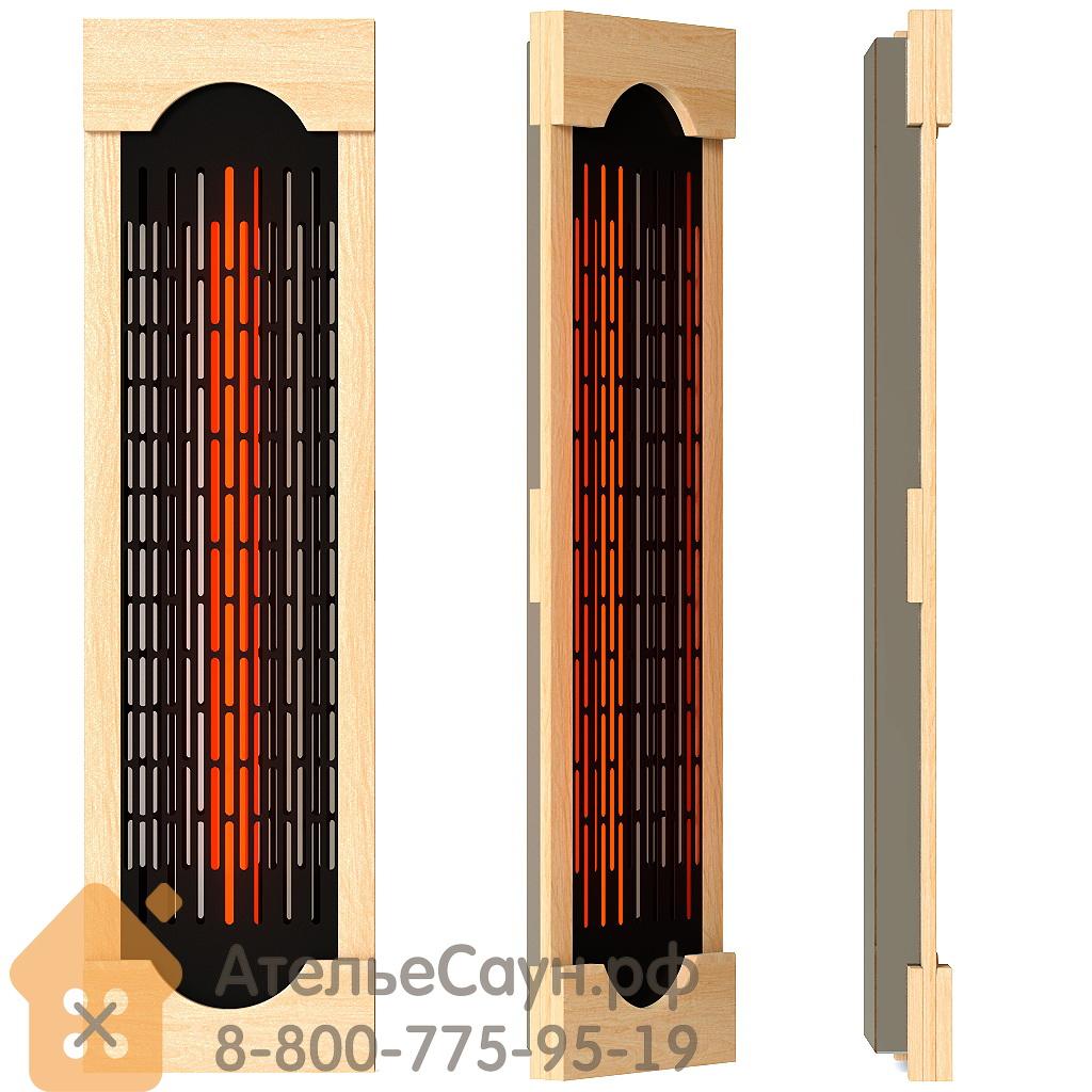 Комплект ИК-излучателей SteamTec TOLO B4 (8 керамических инфракрасных излучателей с рамками из кедра, пульт, акустика USB/MP3 с динамиками)