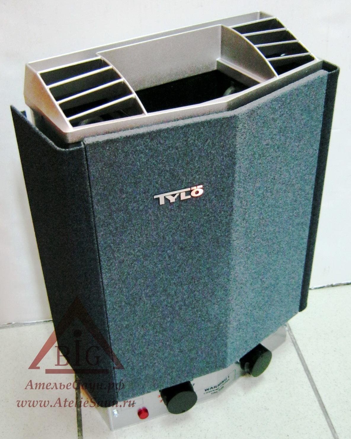 Печь для сауны Tylo Compact 2/4 (со встроенным пультом, арт. 62202000)