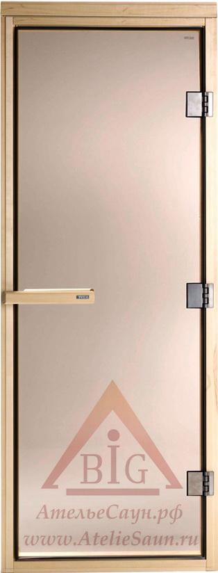 Дверь для сауны Tylo DGM-72 190 (осина, стекло бронза, арт. 91031000)
