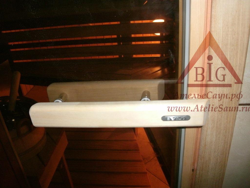 Дверь для сауны Tylo DGM-72 190 (бук, стекло бронза, арт. 91031010)