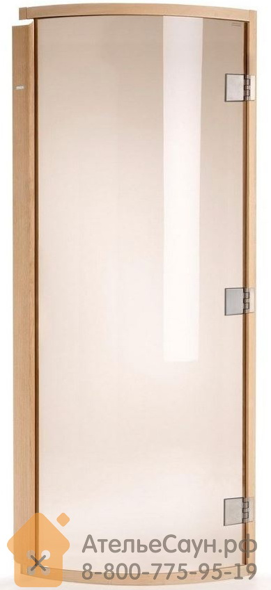 Дверь для сауны Tylo DGR 190 (786х1900, бронза, ольха, арт. 91032035)