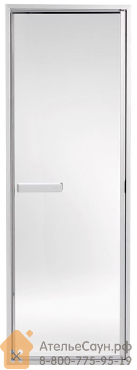 Дверь для хаммама Tylo 50 G (635х1855 мм, прозрачная, алюминий, арт. 90911010)