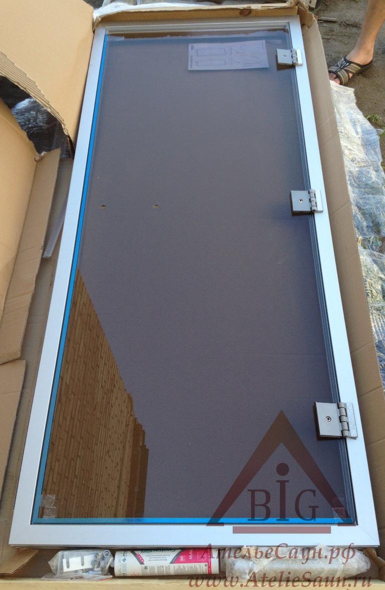 Дверь для хаммама Tylo 60 G (778х1870 мм, бронза, алюминий, арт. 90912000)