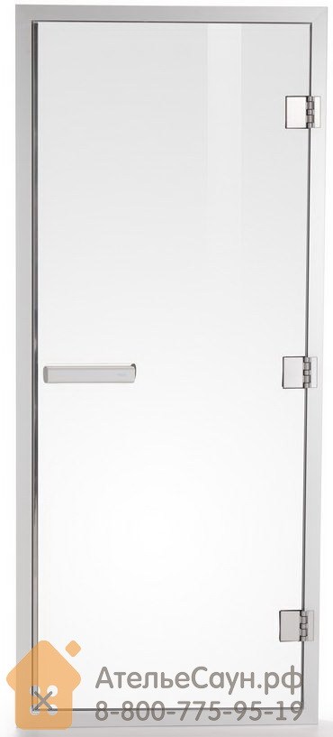 Дверь для хаммама Tylo 60 G (778х1870 мм, прозрачная, алюминий, арт. 90912001)