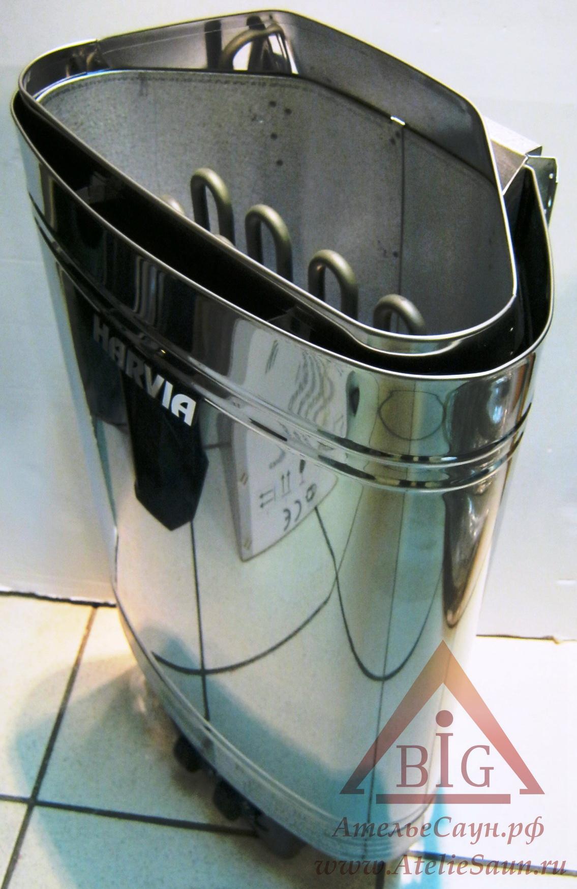 Печь для сауны Harvia Delta D 36 (со встроенным пультом)