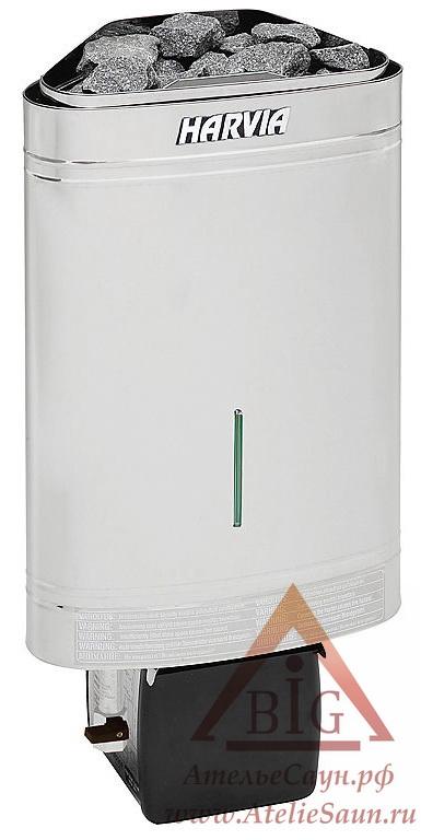 Печь для сауны Harvia Delta Combi D 29 SE (без пульта, с парогенератором)