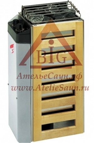 Электрическая печь Harvia Compact JM 20 (со встроенным пультом)