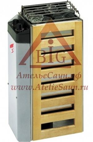 Электрическая печь Harvia Compact JM 30 (со встроенным пультом)
