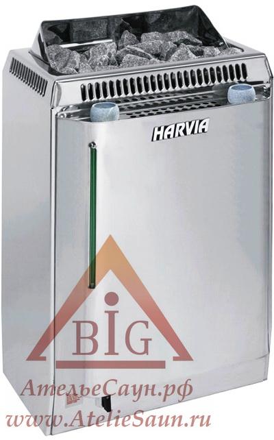 Электрокаменка Harvia Topclass Combi Automatic KV 80 SEA (с парогенератором и автозаливом)