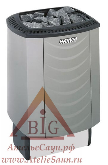 Электрическая печь Harvia Sound M 60 Platinum (со встроенным пультом)