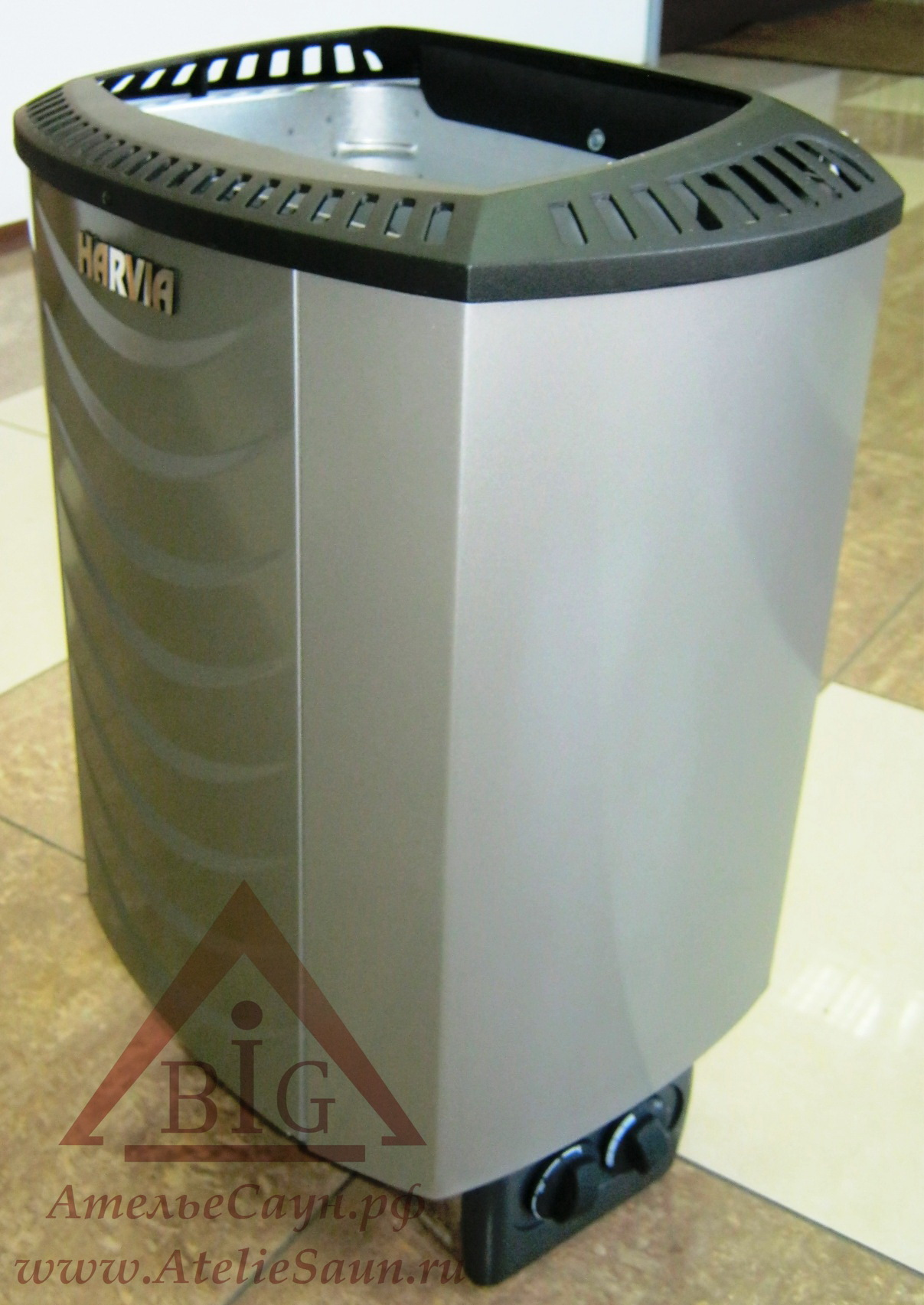 Электрическая печь Harvia Sound M 80 Platinum (со встроенным пультом)