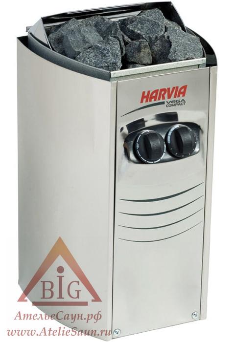 Печь для сауны Harvia Vega Compact BC 23 (со встроенным пультом)