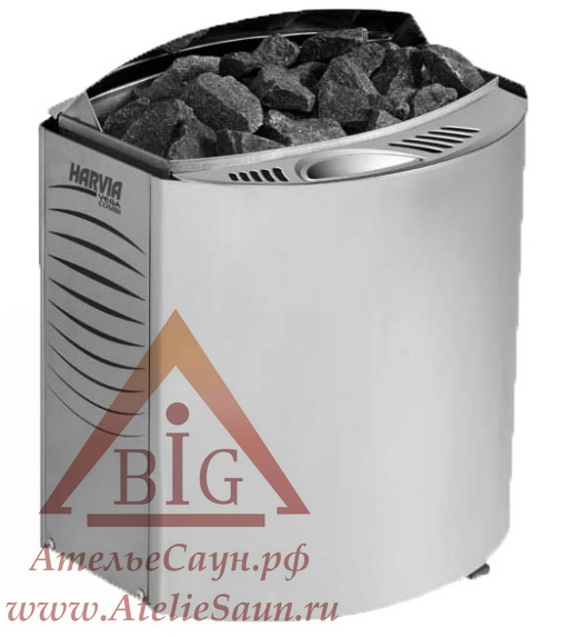 Печь для сауны Harvia Vega Combi Automatic BC 90 SEA (с парогенератором и автозаливом)
