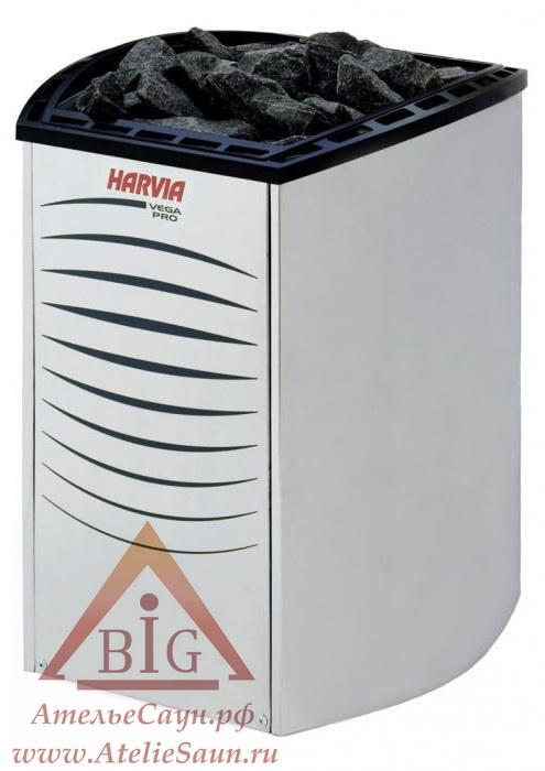 Электрокаменка Harvia Vega Pro BC 165 (без пульта)