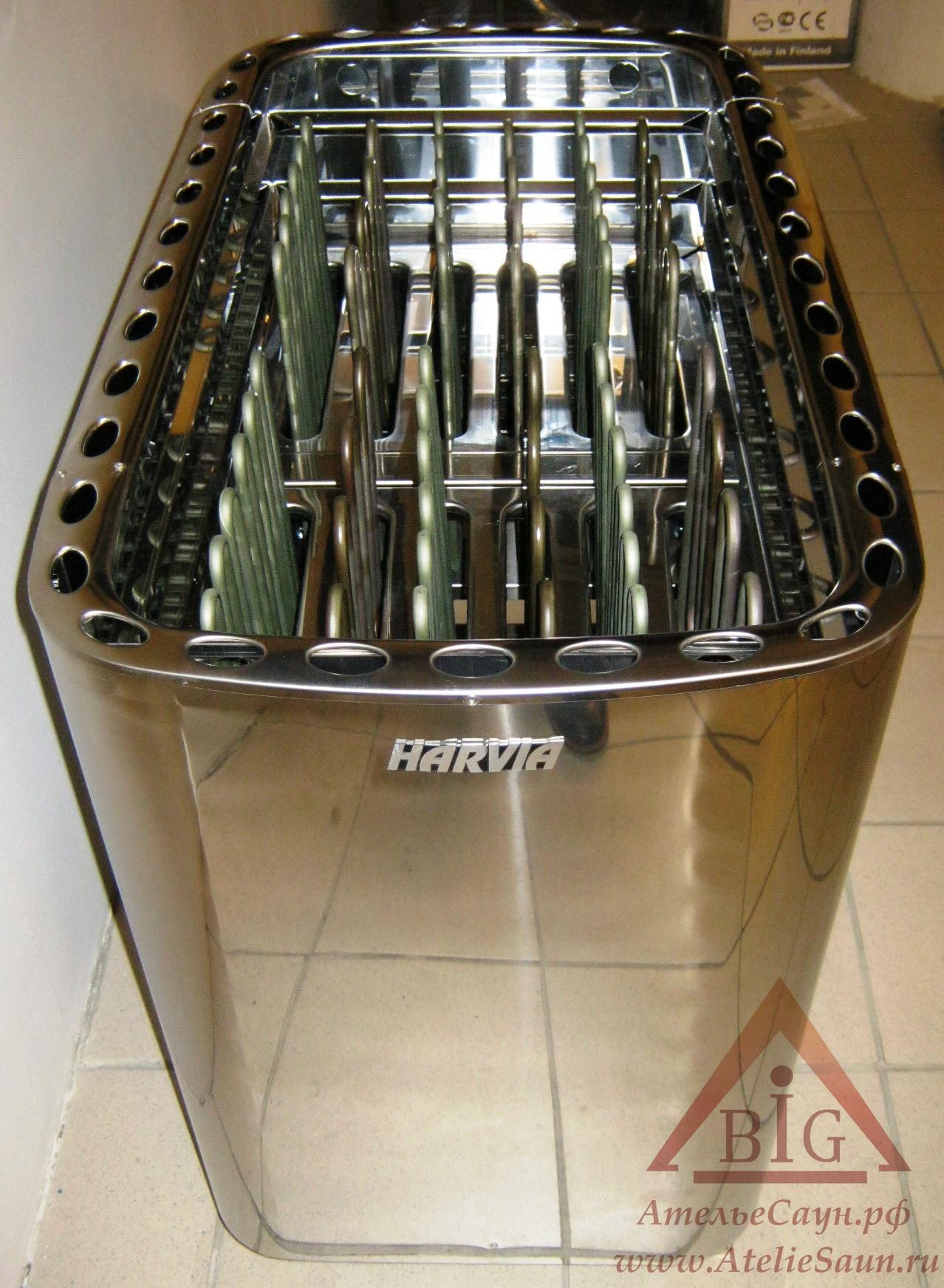 Электрокаменка Harvia Profi L 33 (без пульта)
