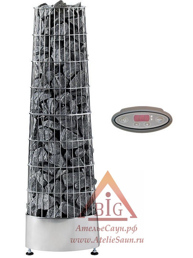 Печь для сауны Harvia Kivi PI 90 (с выносным пультом)