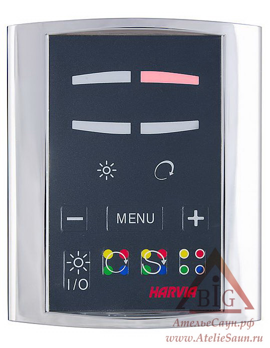 Пульт управления Harvia Griffin CG170T Color Light (для цветотерапии, с блоком)