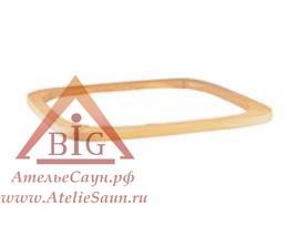 Деревянный поручень для печи Harvia Elegance (ольха), HRE1