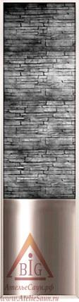 Декоративная каменная стенка Harvia (534x2040 мм)
