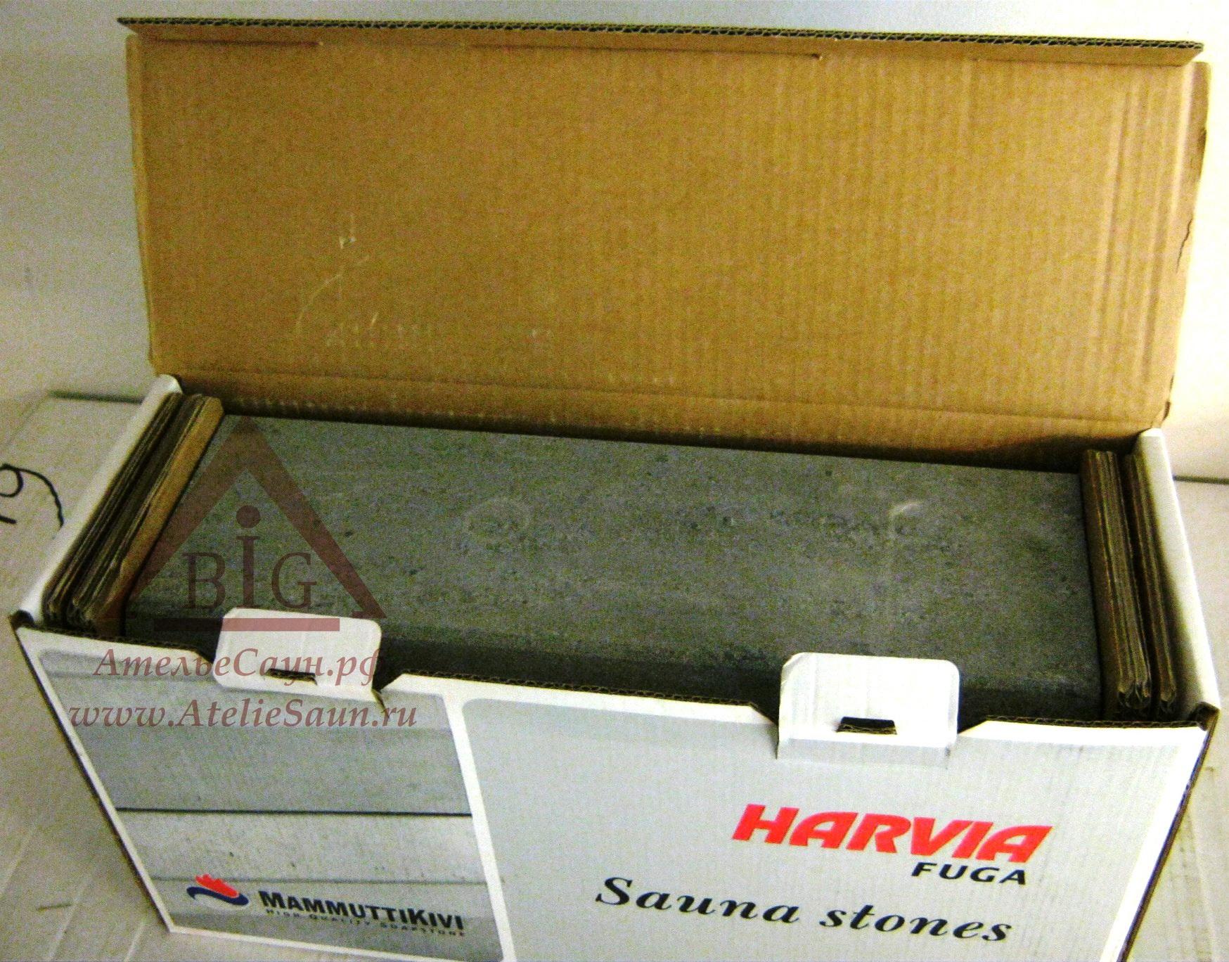 Комплект камней для печи Harvia Fuga (6 шт.), WX279