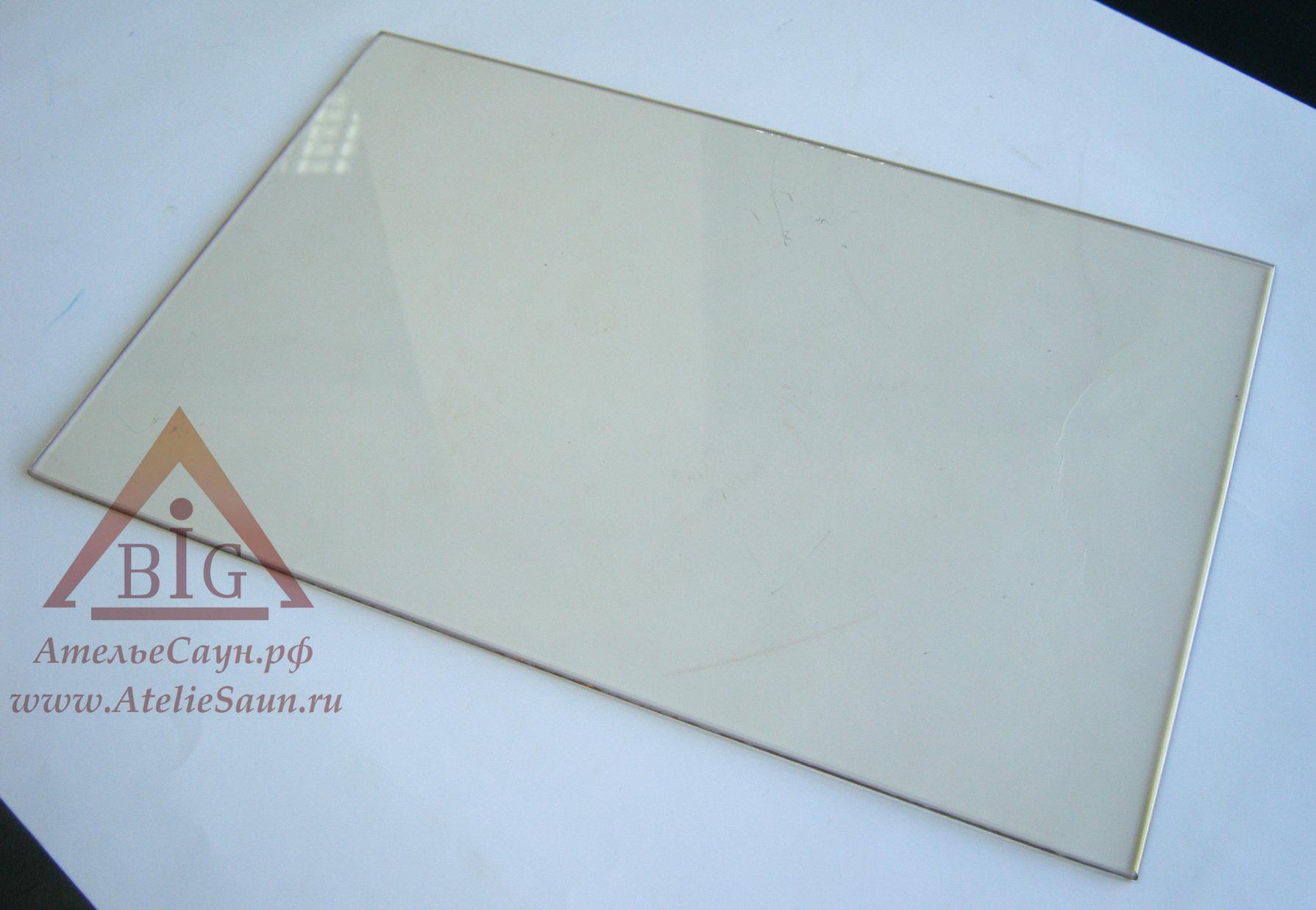 Стекло для печей Harvia Duo (23,5х36 см), ZTS-45