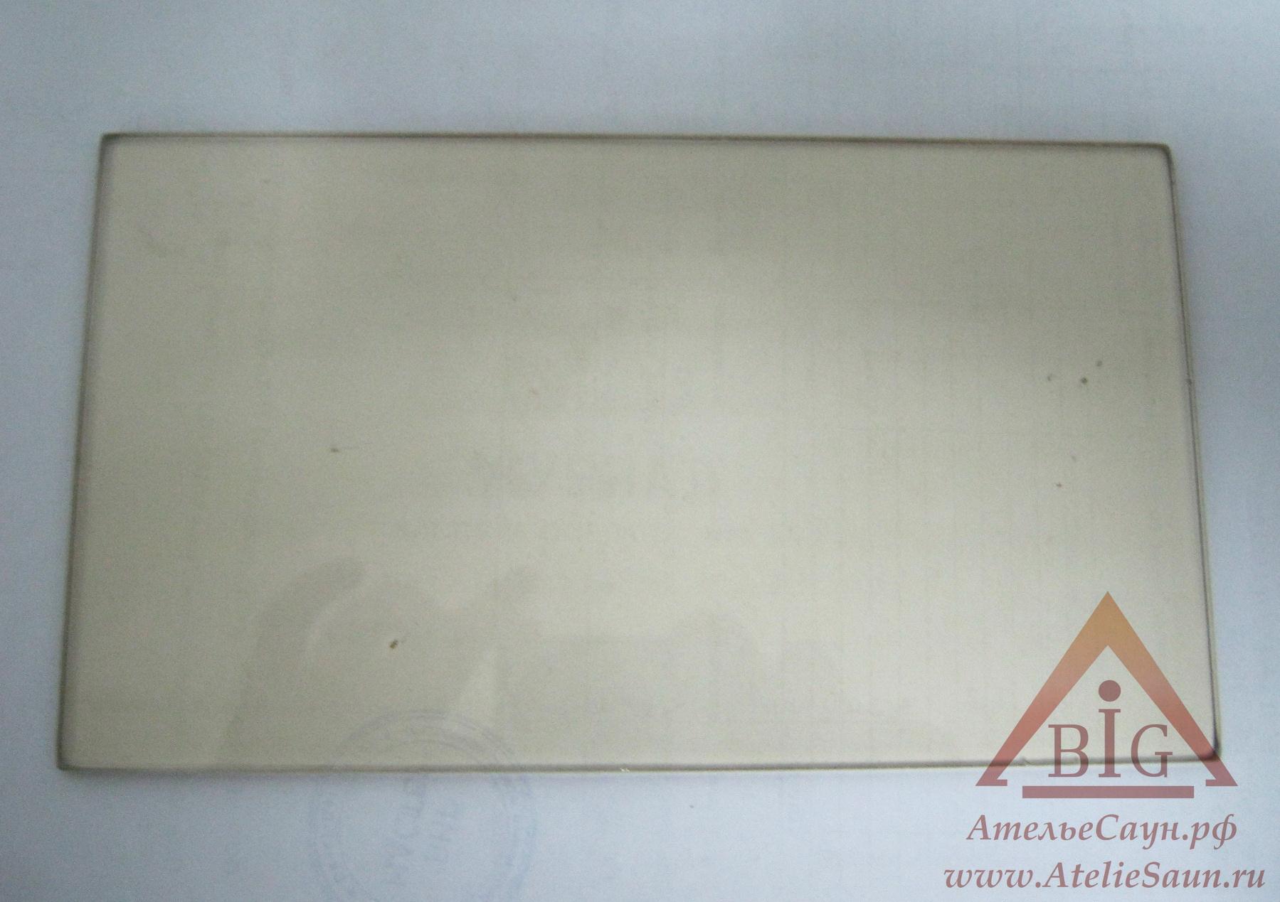 Стекло для печей Harvia Pro (11,3х19,8 см), ZTS-38