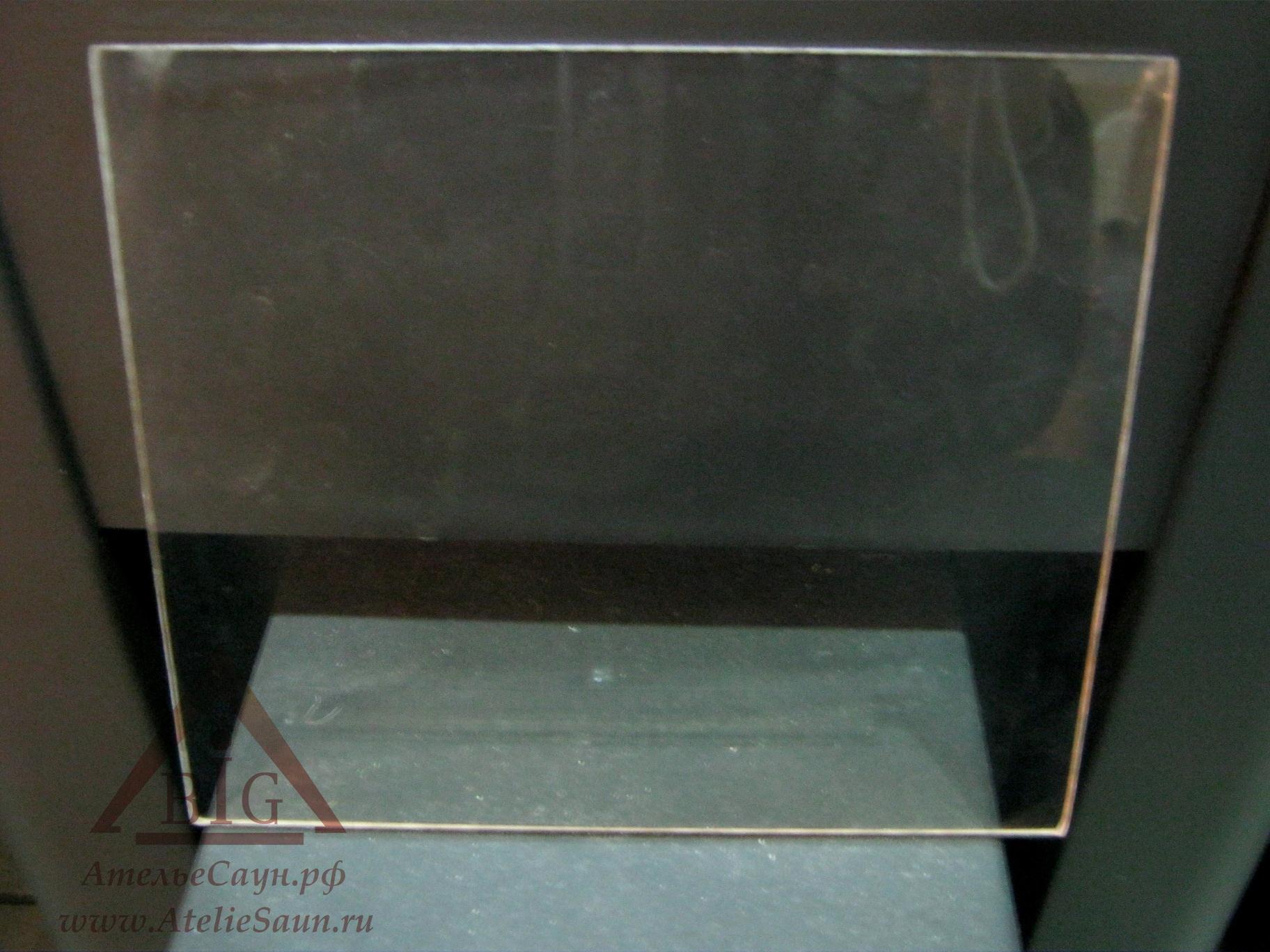 Стекло для печей Harvia Pro (18,4х21 см), ZTS-36