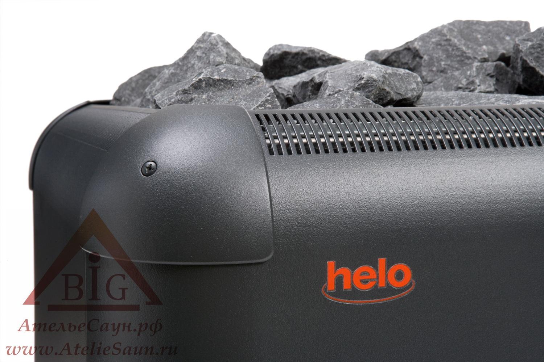 Печь для сауны Helo Laava 901 (без пульта и блока, графит)