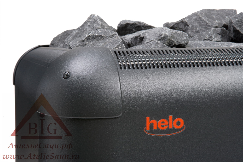Печь для сауны Helo Laava 1051 (без пульта и блока, графит)