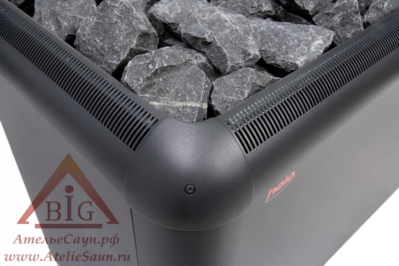 Печь для сауны Helo Laava 1501 (без пульта и блока, графит)