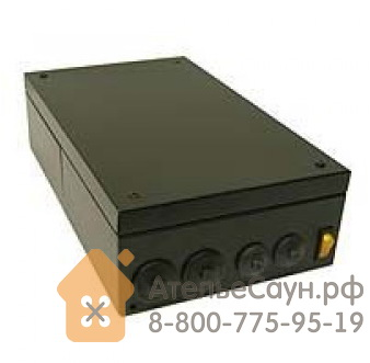 Контакторная коробка Helo WE 4 (для печей 9-15 кВт, черная)